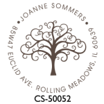 CS-50052 Designer Monogram Stamp