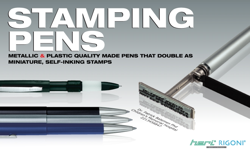 Rubber Stamp Pens